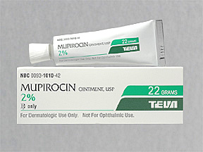 Mupirocin - FDA prescribing information, side effects and uses